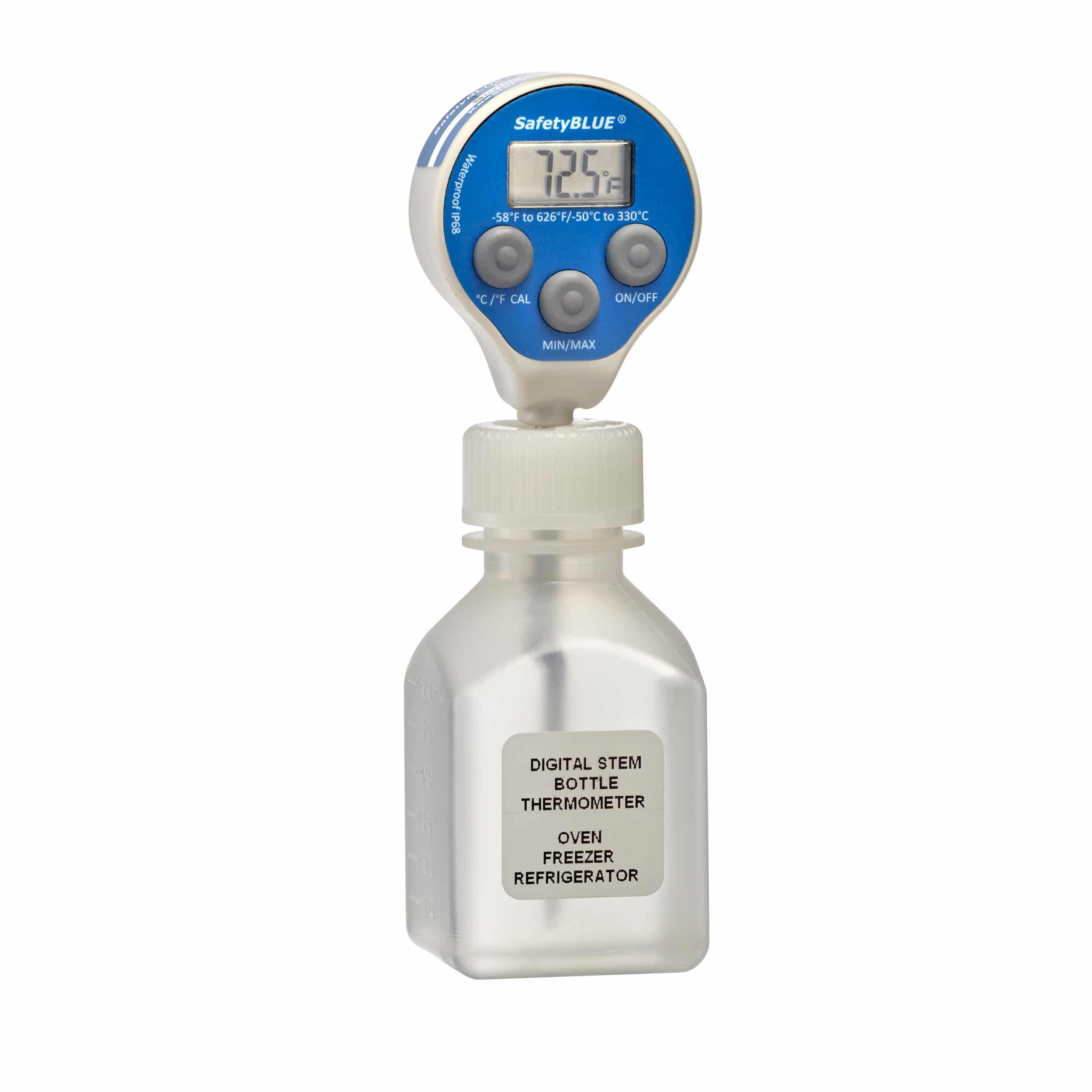 PRECISION DIGITAL STEM BOTTLE THERMOMETERS (MERCURY ALTERNATIVE)